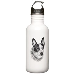 Peaches Stainless Water Bottle 1.0L