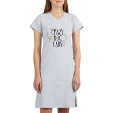 Crazy Dog Lady Women's Nightshirt