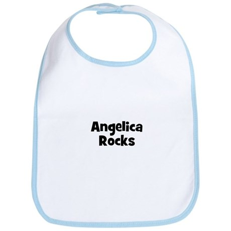 Angelica Rocks Bib
