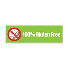 Cute Celiac disease Car Magnet 10 x 3