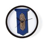 Retro Doorknob Wall Clock