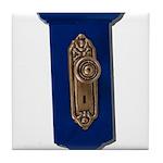 Retro Doorknob Tile Coaster