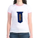 Retro Doorknob Jr. Ringer T-Shirt