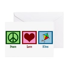 Peace Love Kites Greeting Cards (Pk of 20)