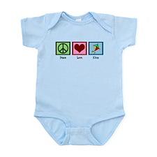Peace Love Kites Infant Bodysuit