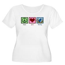 Peace Love Birding T-Shirt