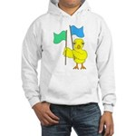 Color Guard Chick Hooded Sweatshirt