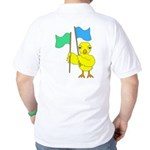 Color Guard Chick Golf Shirt