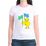 Color Guard Chick Jr. Ringer T-Shirt