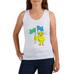 Color Guard Chick Women's Tank Top