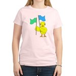 Color Guard Chick Women's Light T-Shirt