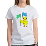 Color Guard Chick Women's T-Shirt