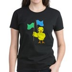 Color Guard Chick Women's Dark T-Shirt