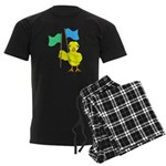 Color Guard Chick Men's Dark Pajamas