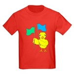 Color Guard Chick Kids Dark T-Shirt