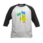 Color Guard Chick Kids Baseball Jersey