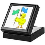 Color Guard Chick Keepsake Box