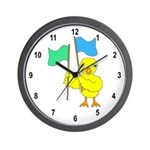 Color Guard Chick Wall Clock