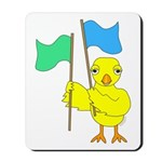 Color Guard Chick Mousepad