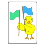 Color Guard Chick Banner