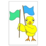 Color Guard Chick Large Poster