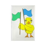 Color Guard Chick Rectangle Magnet (10 pack)