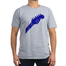 The Blues, Distressed, Fitted Tee