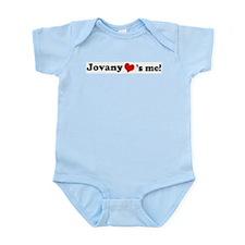 Jovany loves me Infant Creeper