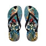Pirate & Mermaid Flip Flops