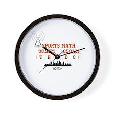 SportsRadio Wall Clock