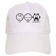 Eat Sleep Biochemistry Baseball Cap