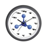 Elements Wall Clock - Blue