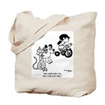 She's One in Cat Years Tote Bag