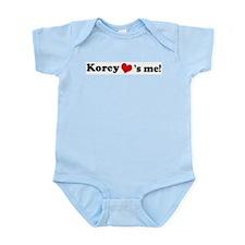 Korey loves me Infant Creeper