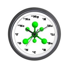 Elements Wall Clock - Green