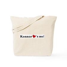 Konnor loves me Tote Bag