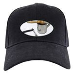 Straight Razor Mug Brush Black Cap