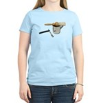 Straight Razor Mug Brush Women's Light T-Shirt
