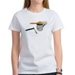 Straight Razor Mug Brush Women's T-Shirt