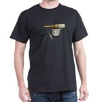 Straight Razor Mug Brush Dark T-Shirt