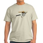 Straight Razor Mug Brush Light T-Shirt