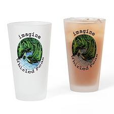 Imagine Whirled Peas Drinking Glass