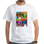 Beagle White T-Shirt