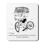 Excessive Bike Accessories Mousepad
