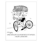 Excessive Bike Accessories Small Poster