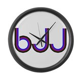 WWJD Large Wall Clock