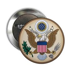 "Great Seal 2.25"" Button"