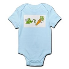 Peas and Carrot Infant Creeper