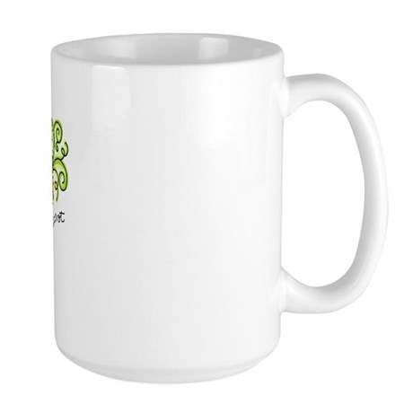 Peas and Carrot Large Mug