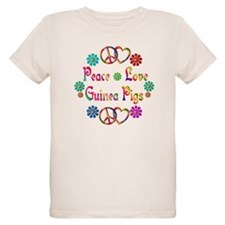 Peace Love Guinea Pigs T-Shirt